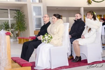 Svadobný obrad v kostole - 104