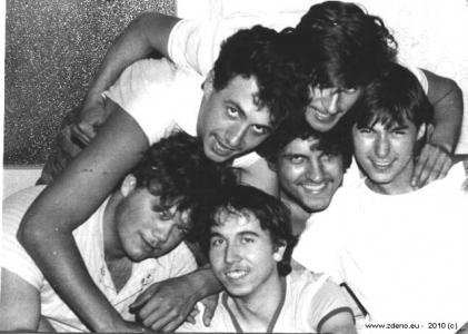 Brigáda - NOVOFRUCT Nové Zámky - august 1986 - 2