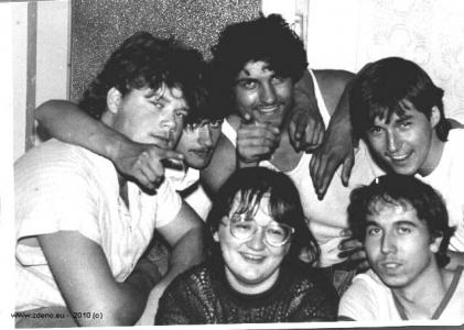 Brigáda - NOVOFRUCT Nové Zámky - august 1986 - 6