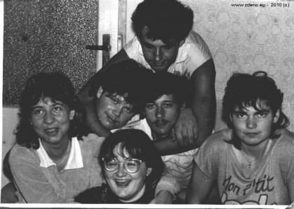 Brigáda - NOVOFRUCT Nové Zámky - august 1986 - 8