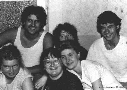 Brigáda - NOVOFRUCT Nové Zámky - august 1986 - 11