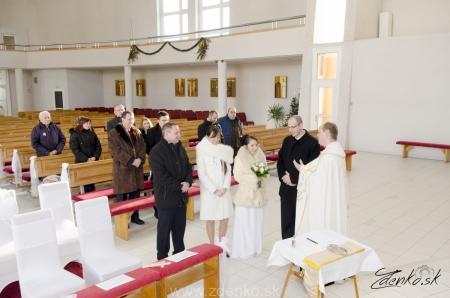 Svadobný obrad v kostole - 107